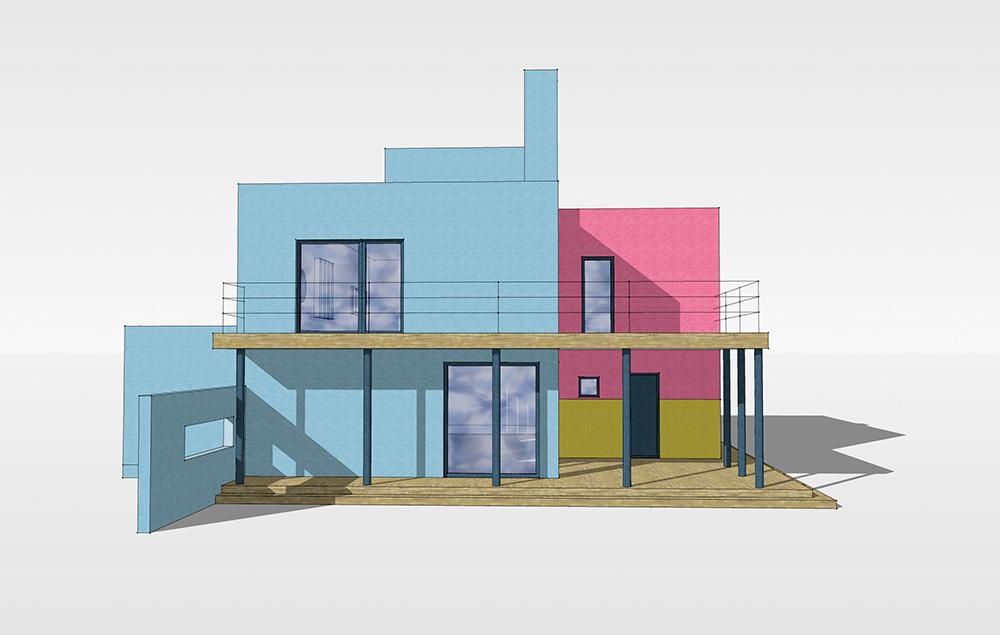 Eramu Lodumetsa teel Meriväljal /  Private house at Lodumetsa Road, Merivälja, Tallinn.  Valminud / Completed 2011