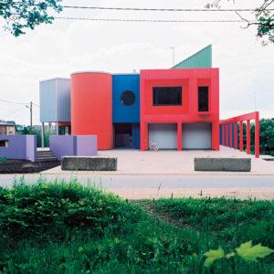 Eramu Rakveres /  Private House in Rakvere.  Valminud / Completed 2000