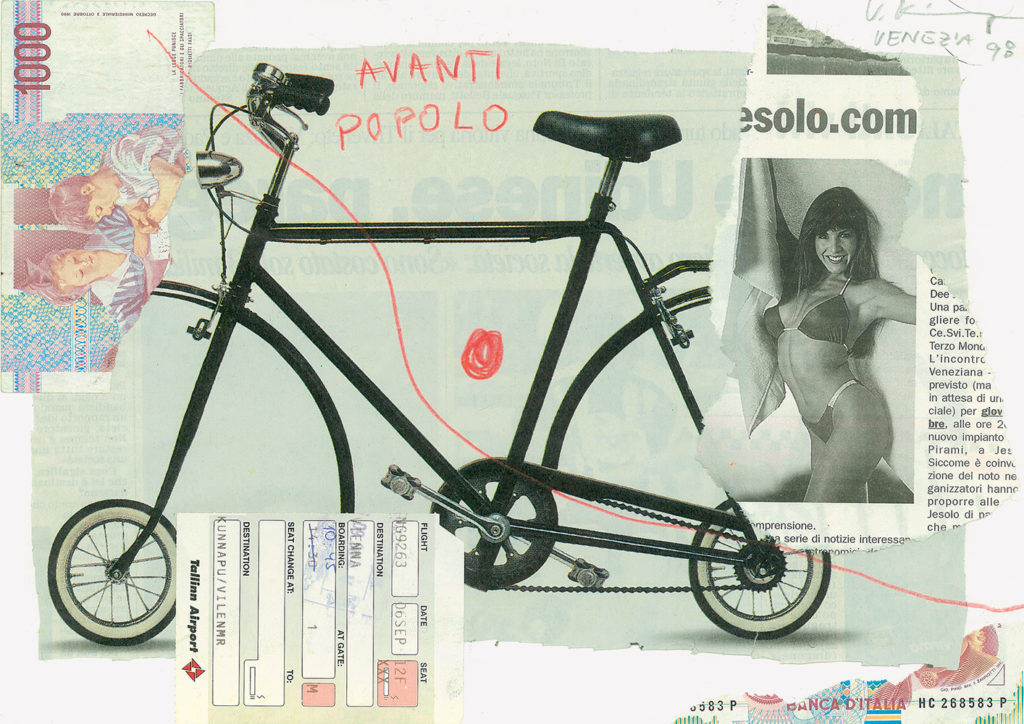 Kollaaž / Collage. 1998