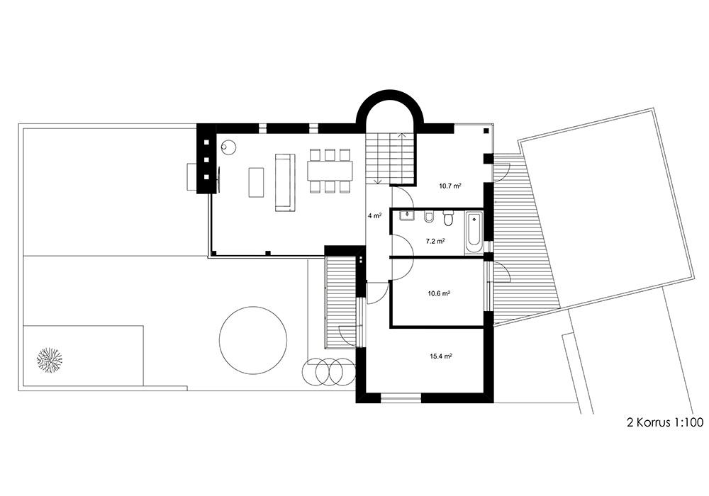 Eramu Tartus / Privat house in Tartu. 2017