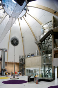 Teaduskeskus AHHAA Tartus /  Science centre AHHAA in Tartu.  Arhitektid / Architects Vilen Künnapu, Ain Padrik.  Valminud / Completed 2007 / 2011