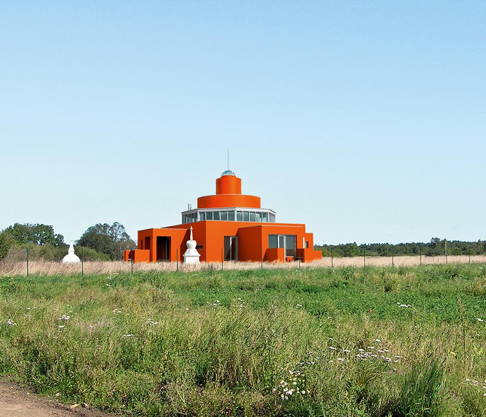 Tempelelamu Suurupis /  Temple-house in Suurupi.  Arhitektid / Arhitektid Vilen Künnapu, Armin Valter Valminud / Completed 2007