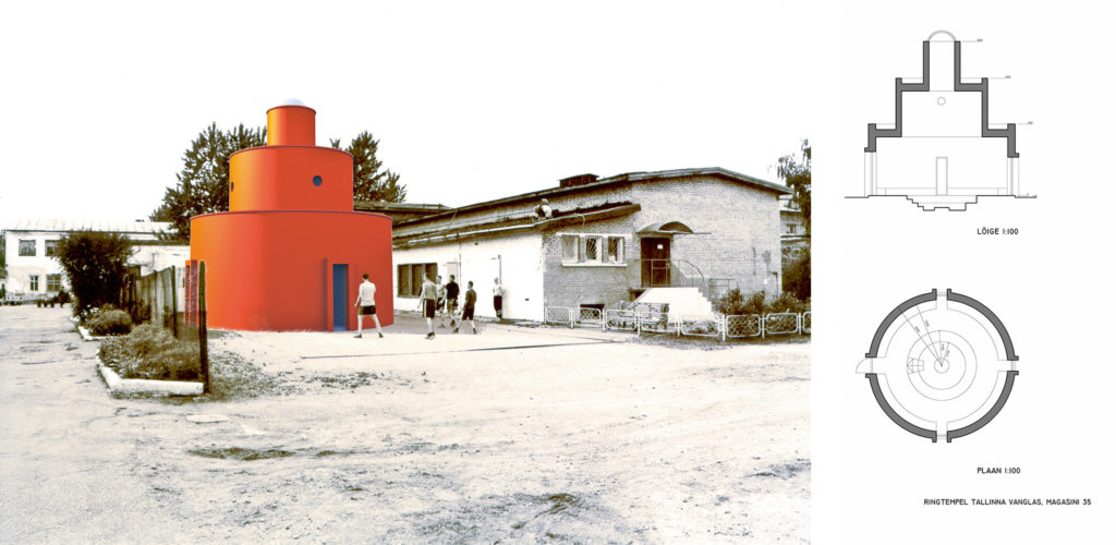 Ümartempel Tallinna vanglas /  Circle temple in Tallinn Prison. 2004
