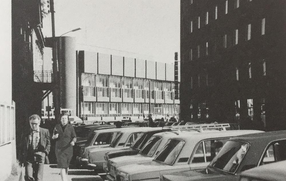Arvutuskeskus Tallinnas / Computing centre in Tallinn. Valminud / Completed 1978