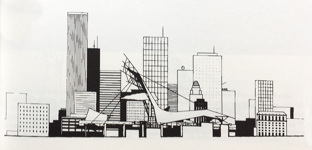 West Coast Gateway. Los Angeles. Rahvusvaheline konkurss / International competition. 1988