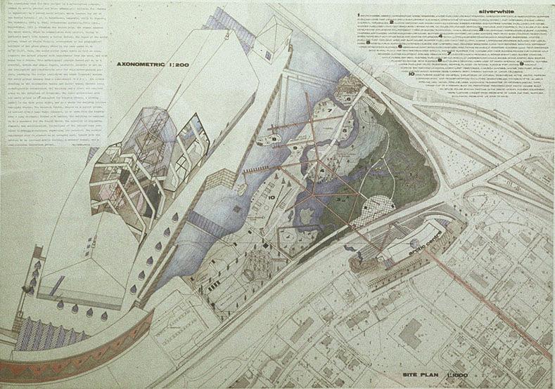 Arktika keskus. Rovaniemi, Soome. Rahvusvaheline konkurss / Arctic Centre. Rovaniemi, Finland. International competition. 1984