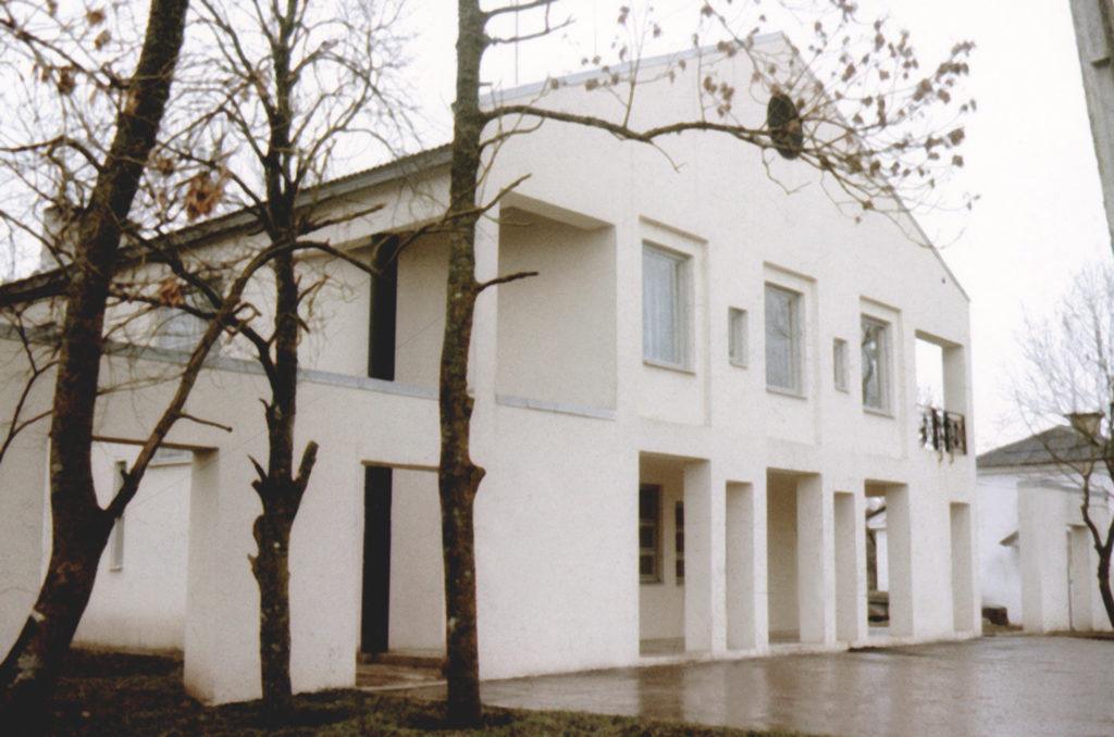 Kolhoosikeskus Valgus (Märjamaa) / Kolkhoz centre in Valgu (Märjamaa). 1982